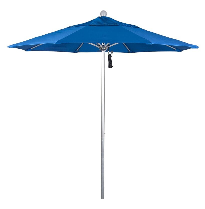 Phat Tommy 7.5' Market Umbrella Fabric: Pacific Blue