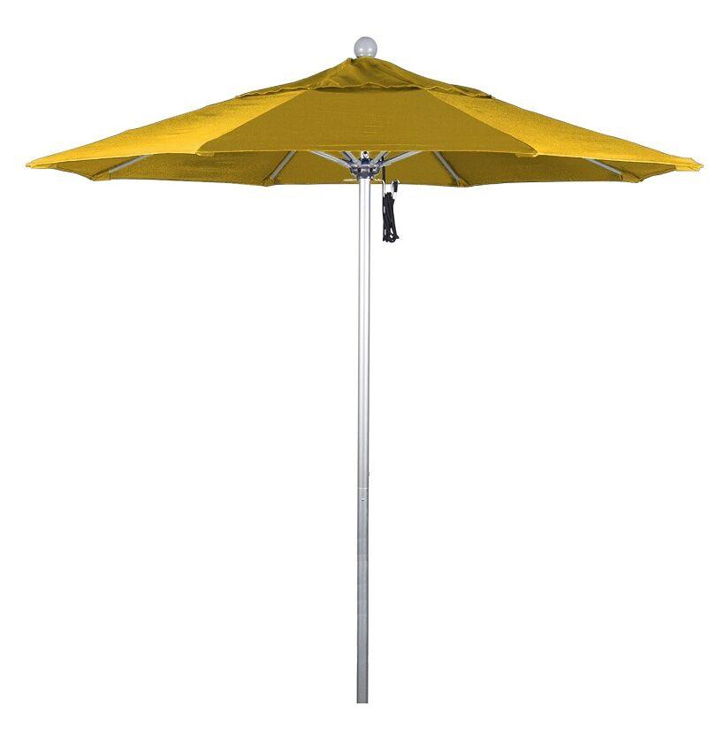 Phat Tommy 7.5' Market Umbrella Fabric: Yellow