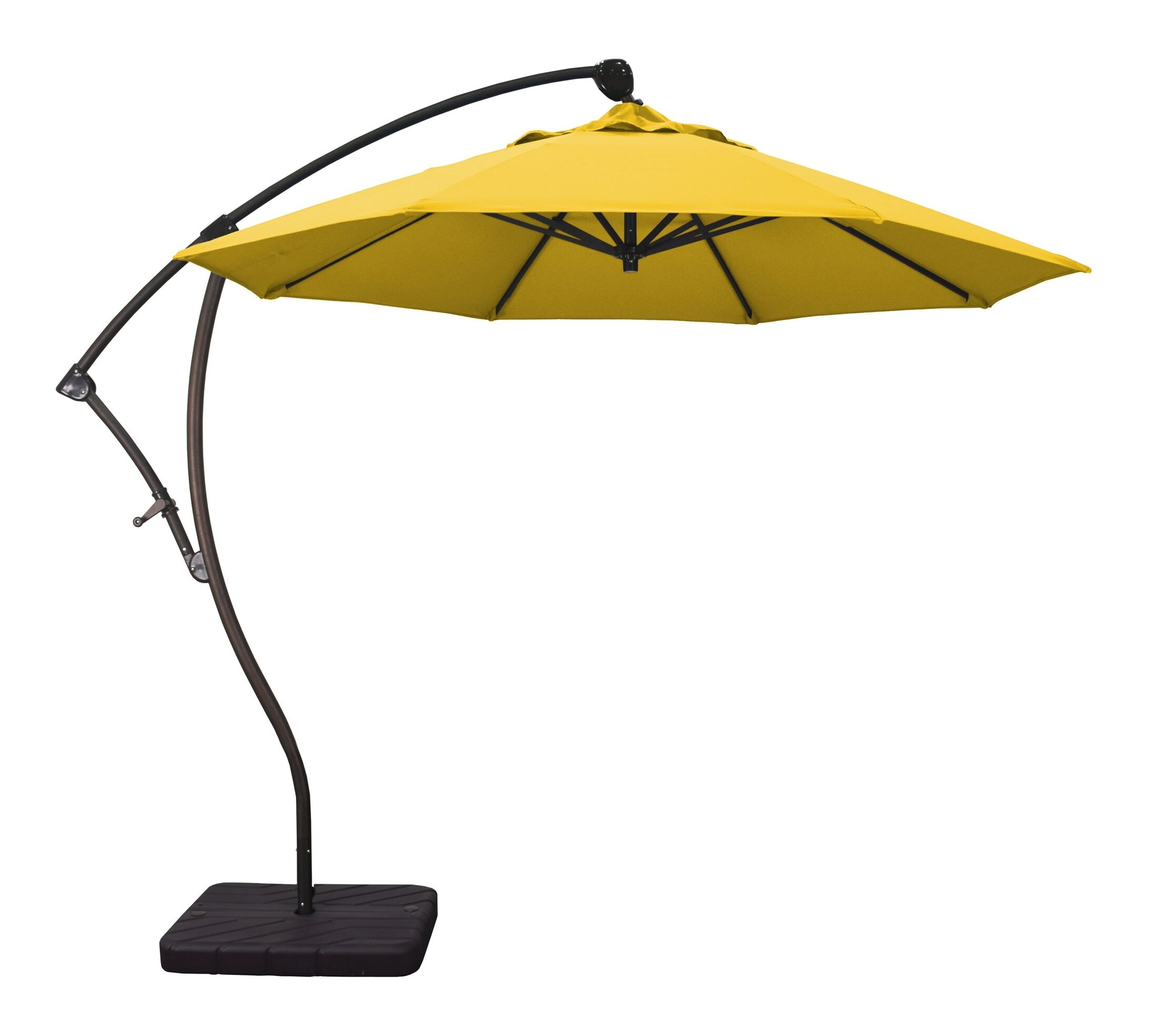 Phat Tommy 9.5' Cantilever Umbrella Fabric: Lemon
