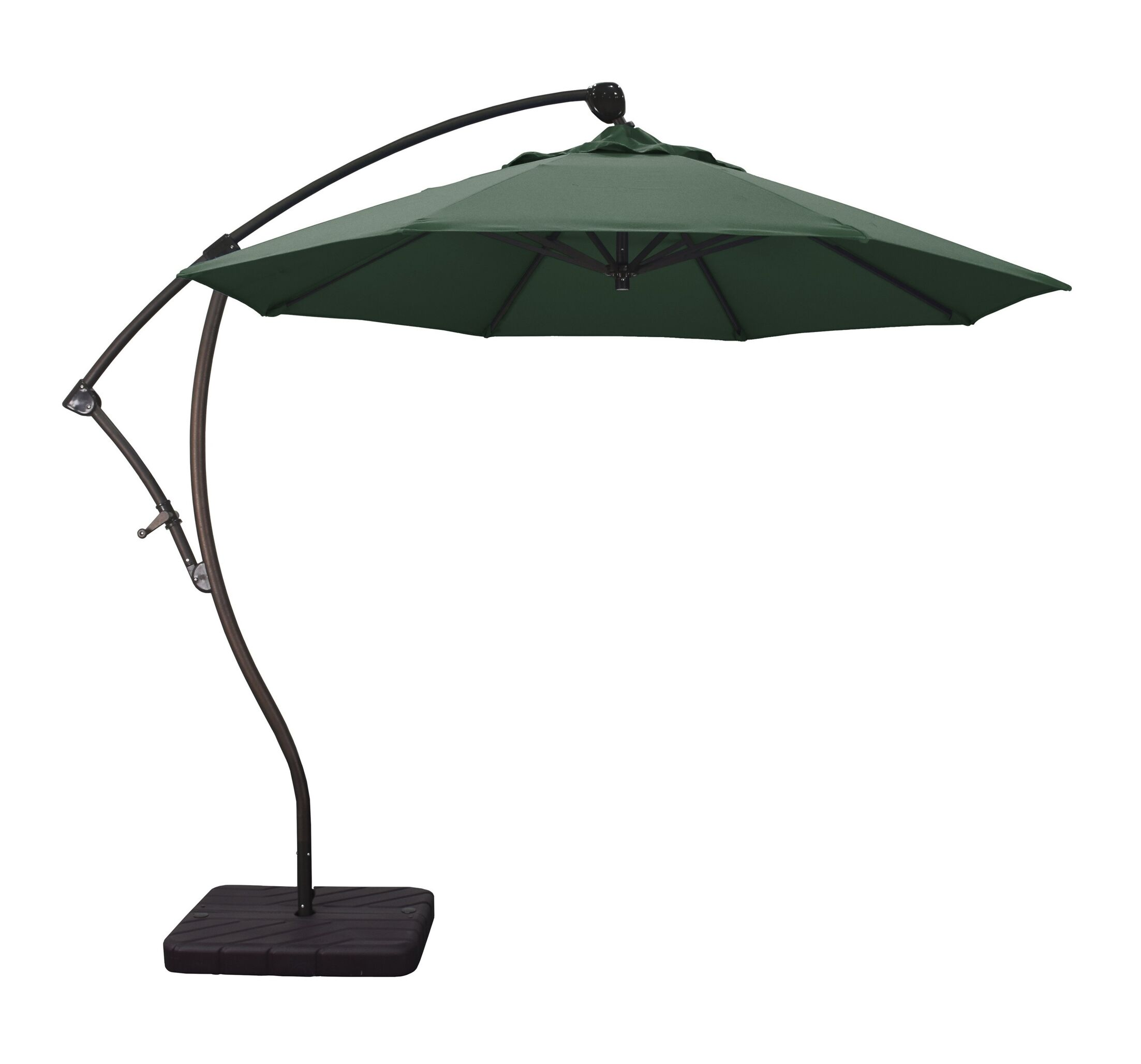 Phat Tommy 9.5' Cantilever Umbrella Fabric: Hunter