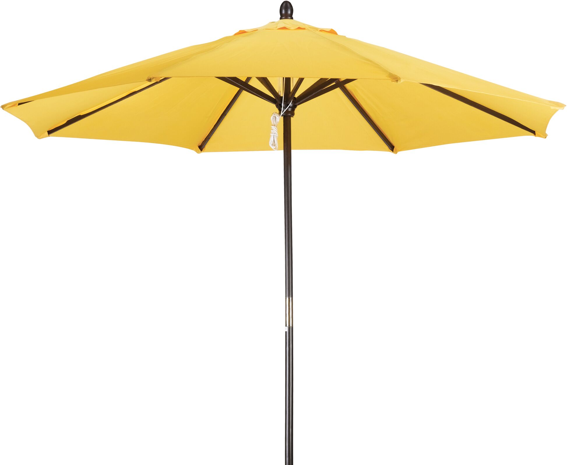Phat Tommy 9' Market Umbrella Fabric: Yellow