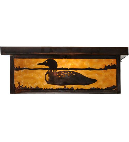 Hyde Park Loon 2-Light Flush Mount Size: 6