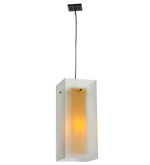 Quadrato Shadow Box 1-Light Square/Rectangle Pendant