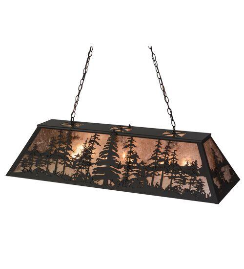 Tall Pines 9-Light Pool Table Lights