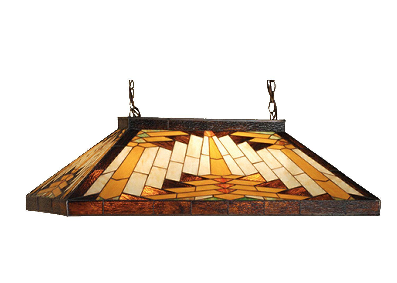 Ethen Oblong 9-Light Pool Table Tight