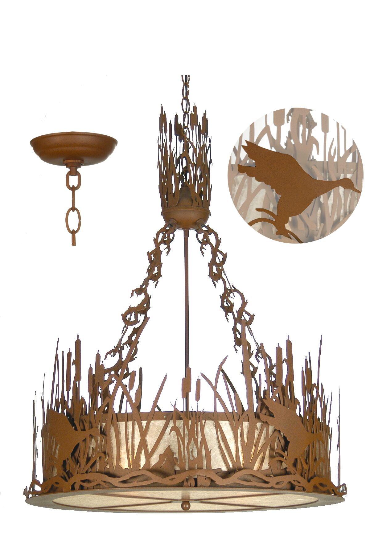 Julianna 4-Light Inverted Pendant