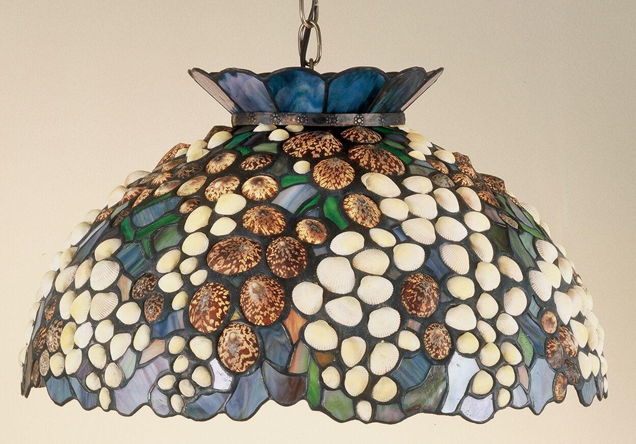 Seashell 3-Light Bowl Pendant