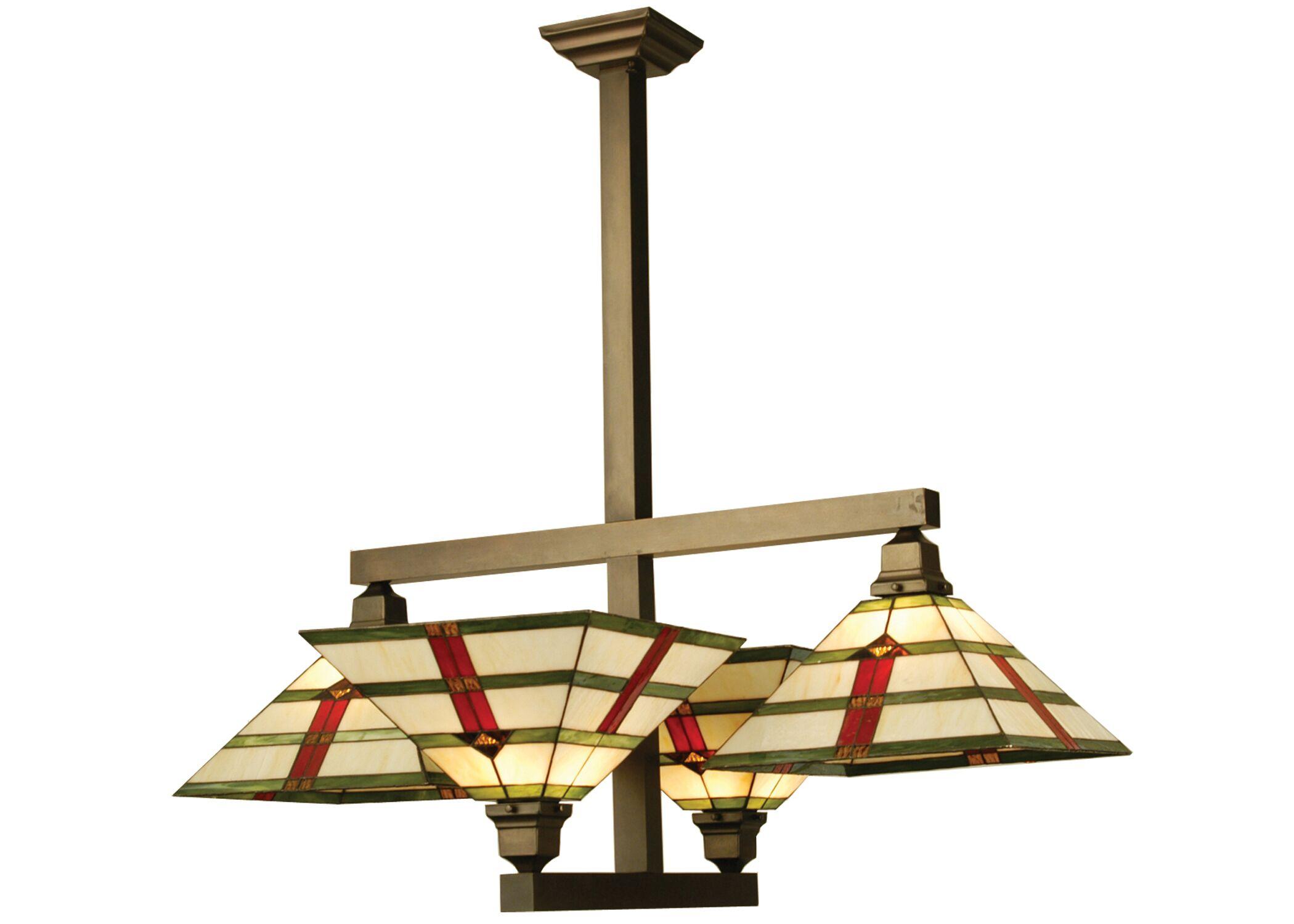 Prairie Arrowhead 4-Light Semi-Flush Mount