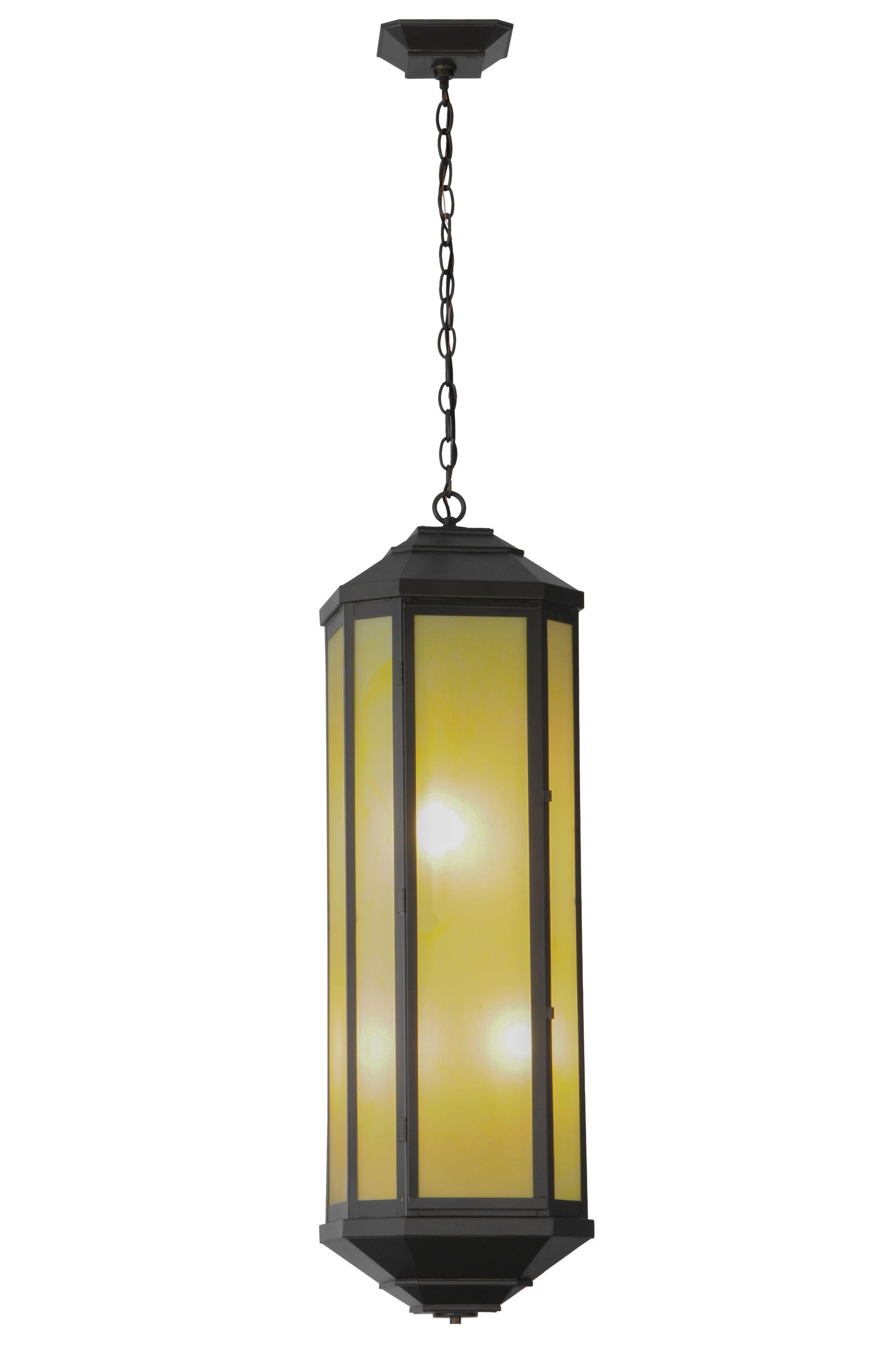 Greenbriar Oak Estelle 4-Light Pendant