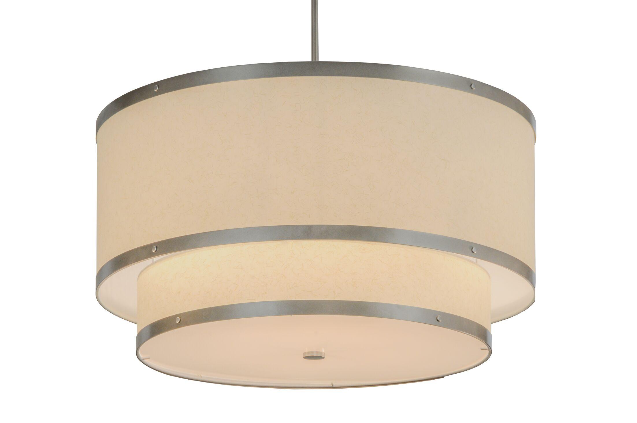 Greenbriar Oak 6-Light Pendant Size: 49