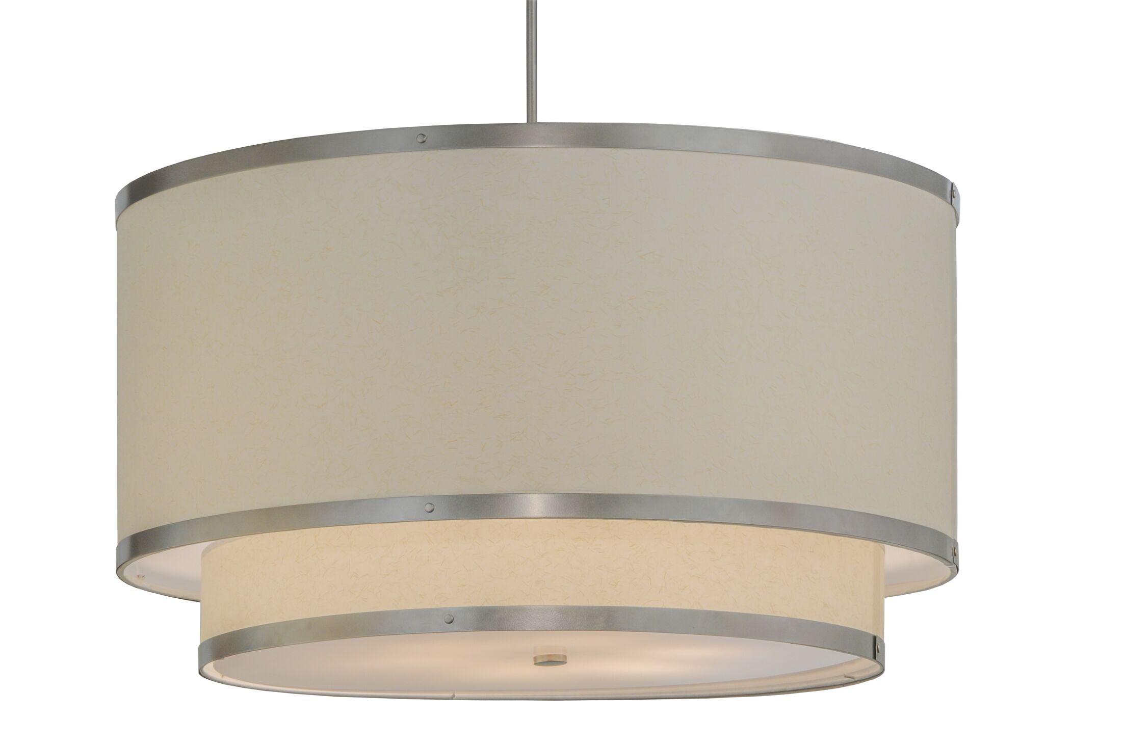 Greenbriar Oak 6-Light Pendant Size: 71