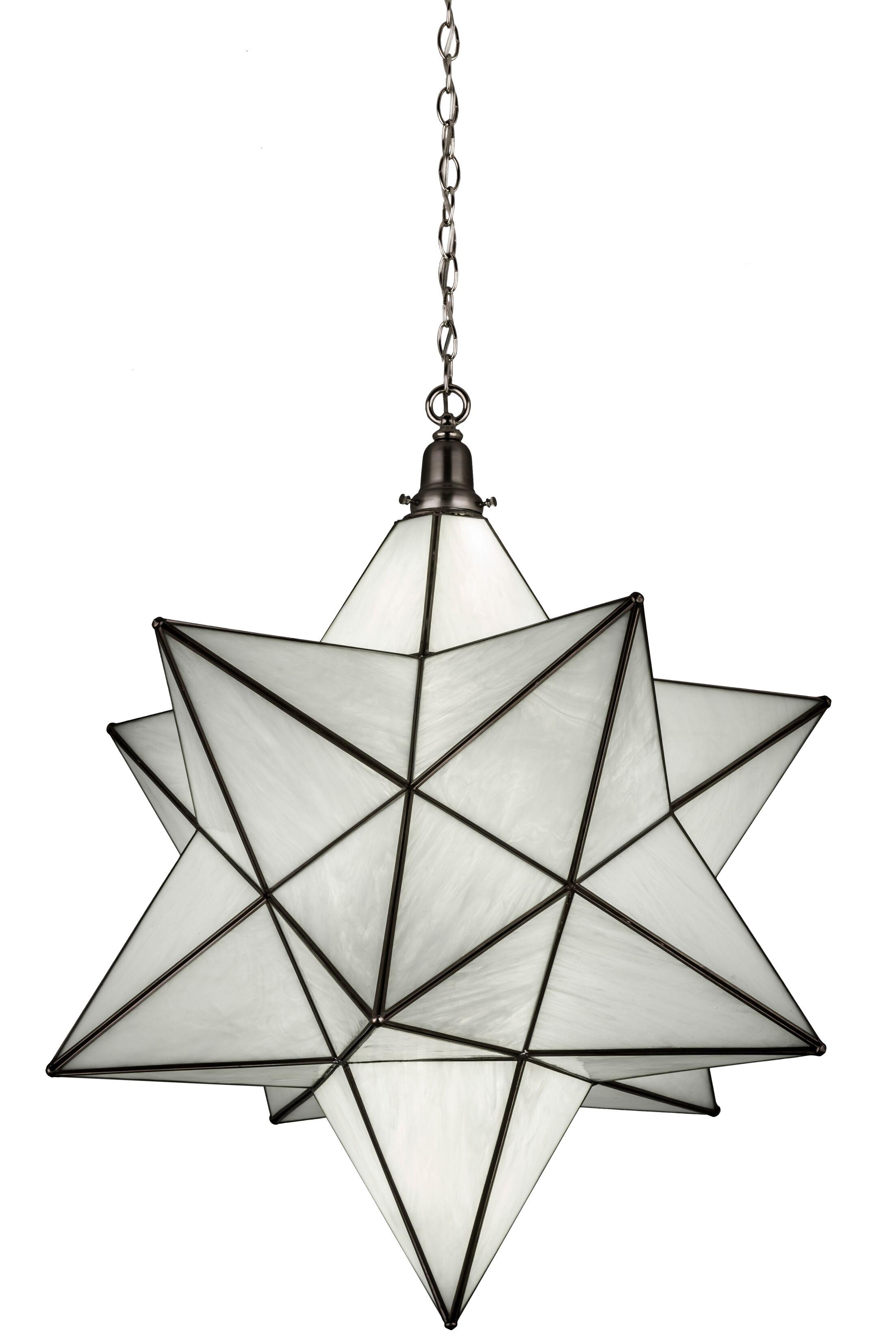 Moravian Star 1-Light Pendant