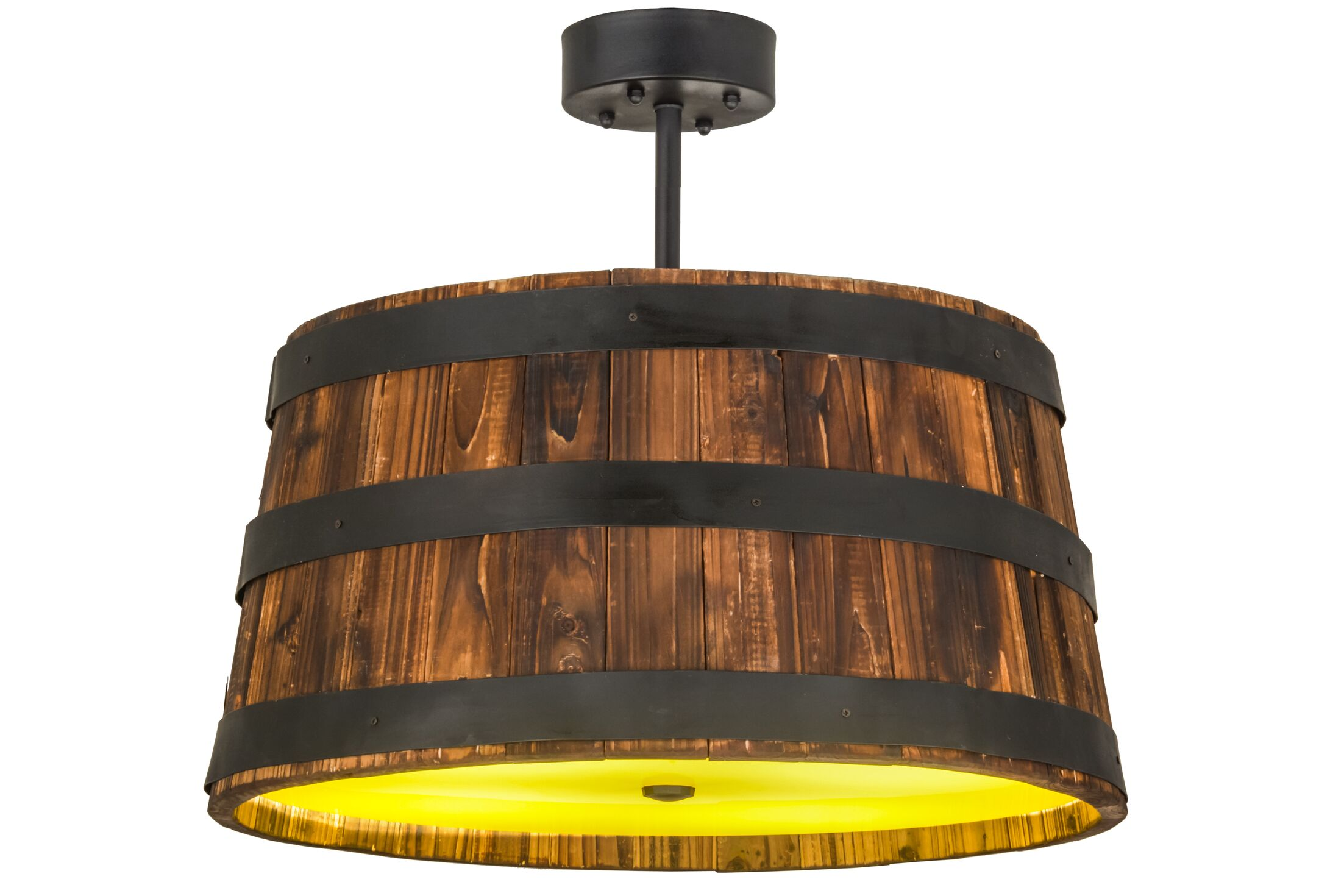 Greenbriar Oak 4-Light Pendant