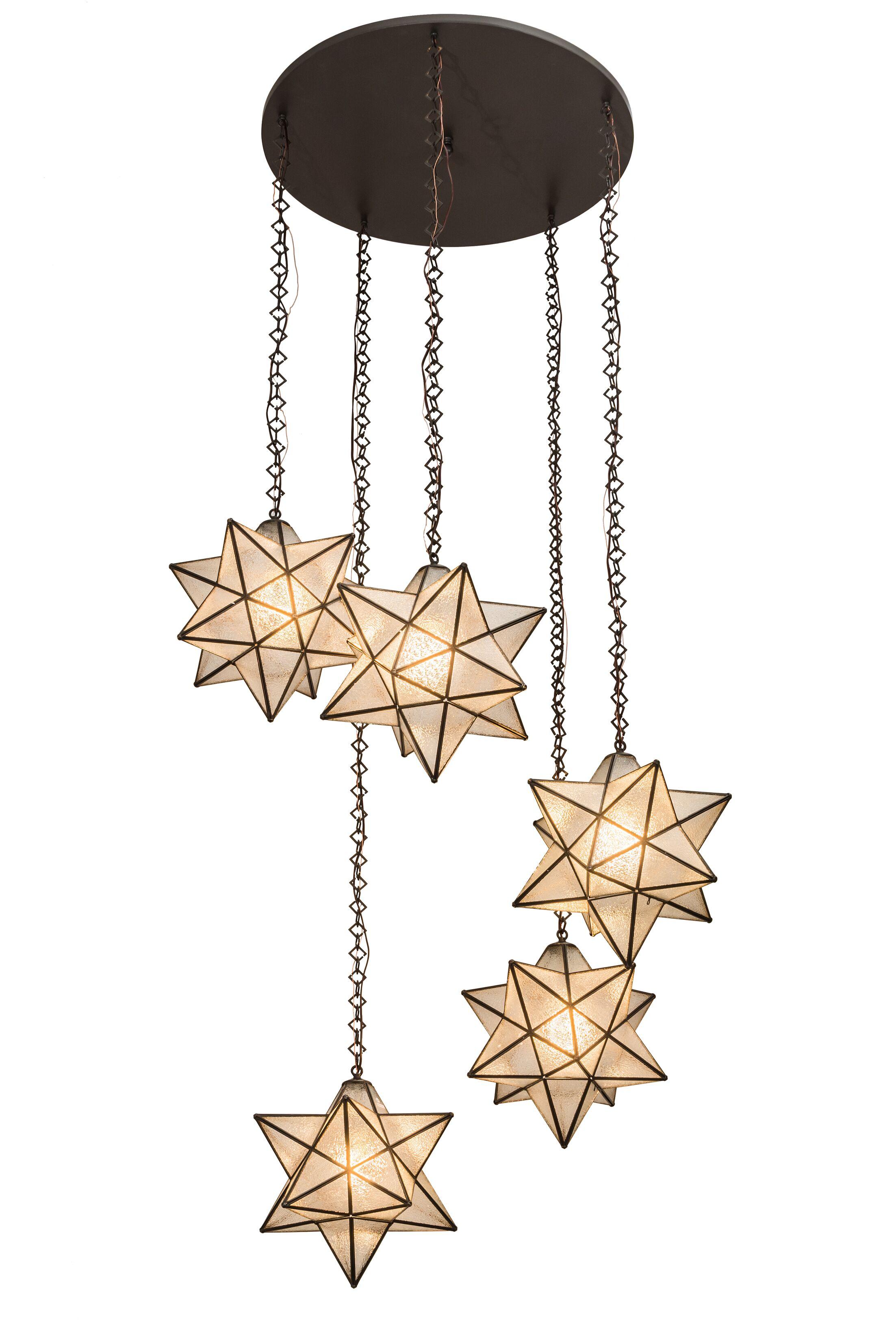 Moravian Star 5-Light Pendant