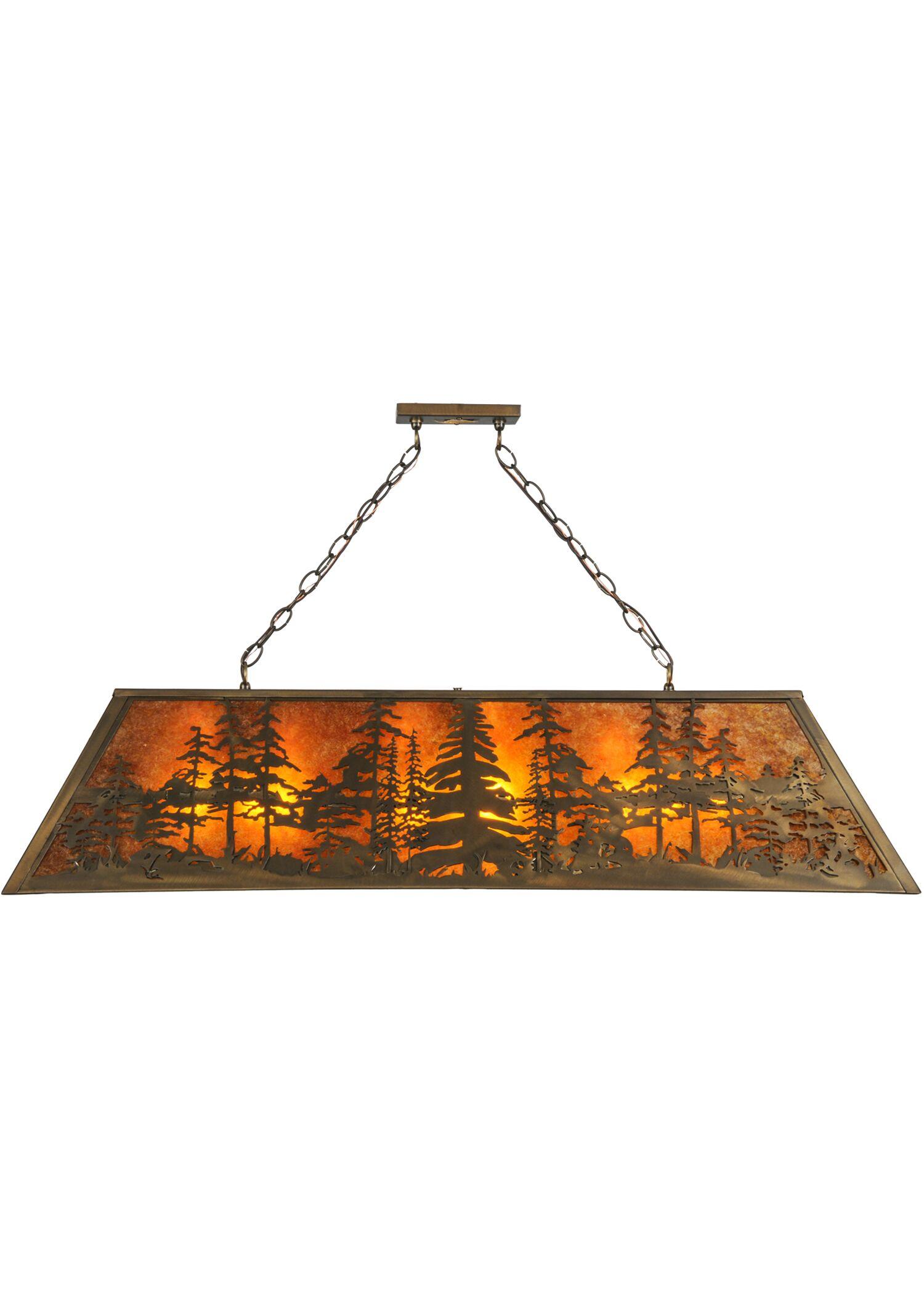 Tall Pines 9-Light Pendant