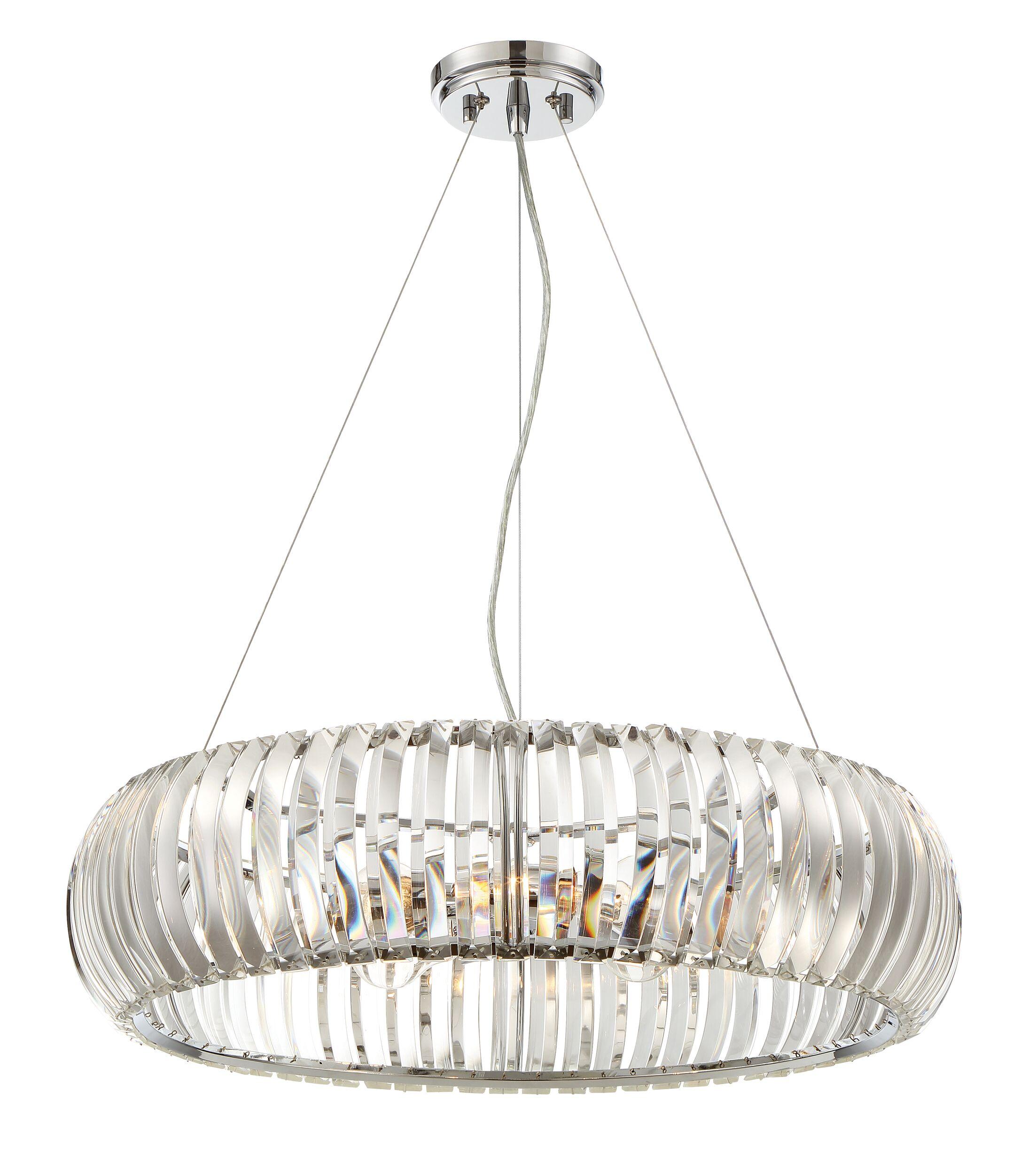 Allure 4-Light Crystal Chandelier