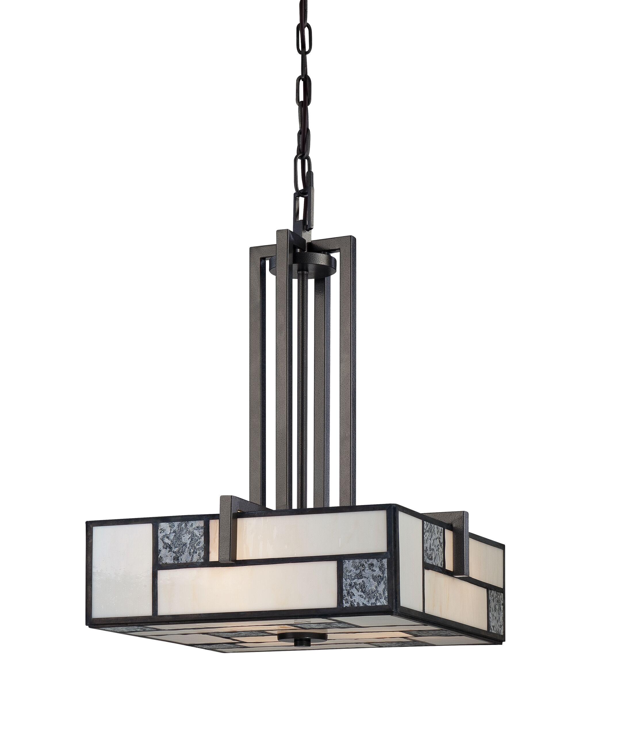 Bradley 3-Light Square/Rectangle Chandelier