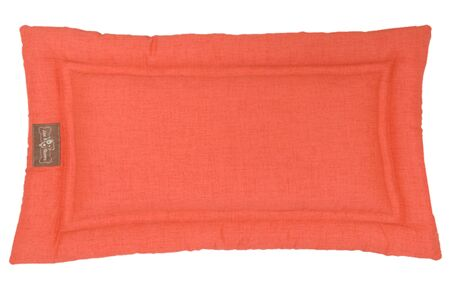 Indoor/Outdoor Cozy Mat Color: Poppy, Size: Extra Large (42