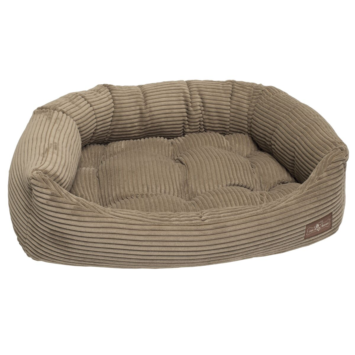Corduroy Napper Bed Bolster Color: Honey, Size: Small - 21