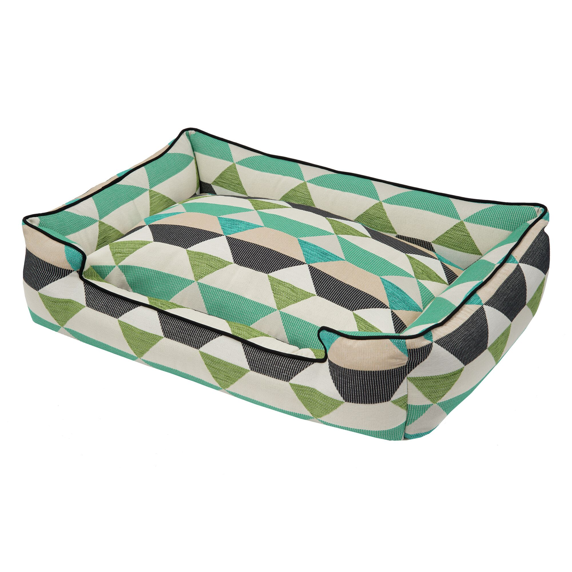 Origami Bolster Pet Bed Size: Small  (24