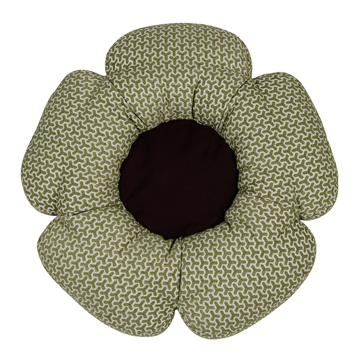 Eve Bloom Bed Color: Green