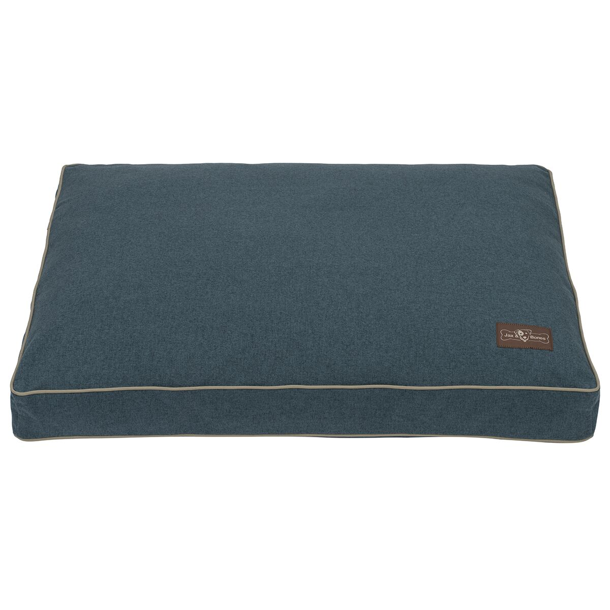 Wool Blend Dog Bed Color: Blue, Size: Medium