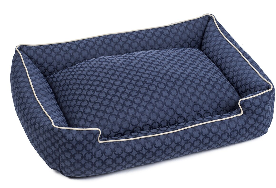 Charter Premium Cotton Lounge Dog Bed Size: Large