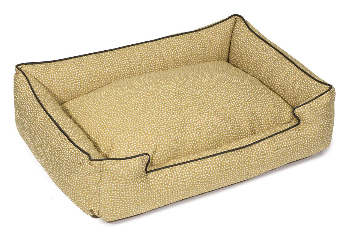 Flicker Premium Cotton Lounge Dog Bed Size: Medium (27