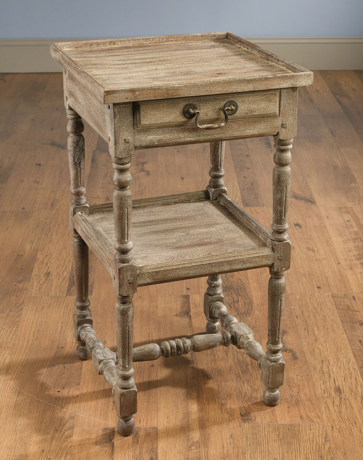 Imane End Table with Storage Color: Weathered Sand
