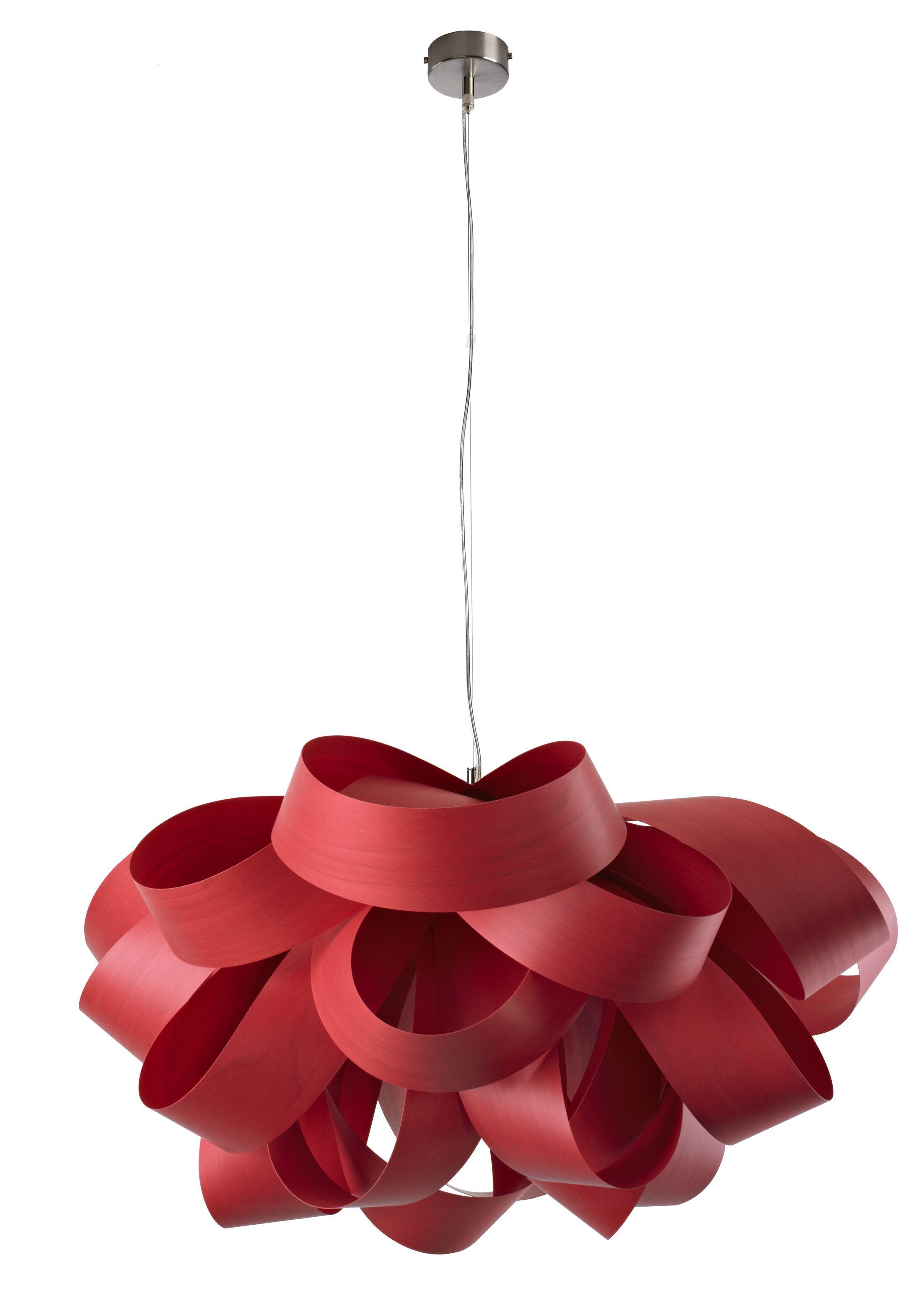 Agatha 3-Light Novelty Chandelier Size: Small, Finish: Red, Bulb Type: E26 Base