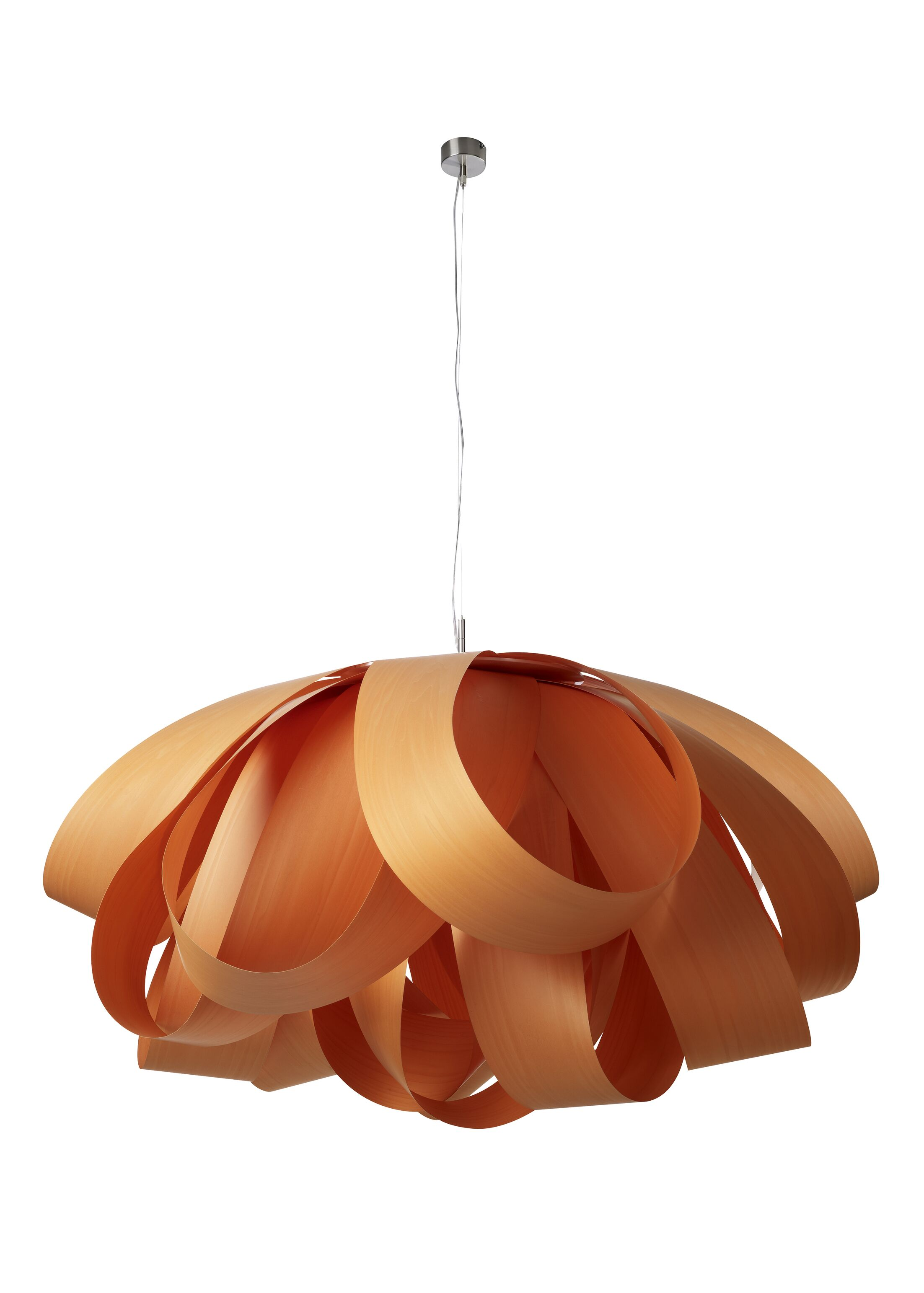 Agatha 3-Light Novelty Chandelier Size: Large, Finish: Orange, Bulb Type: E26 Base