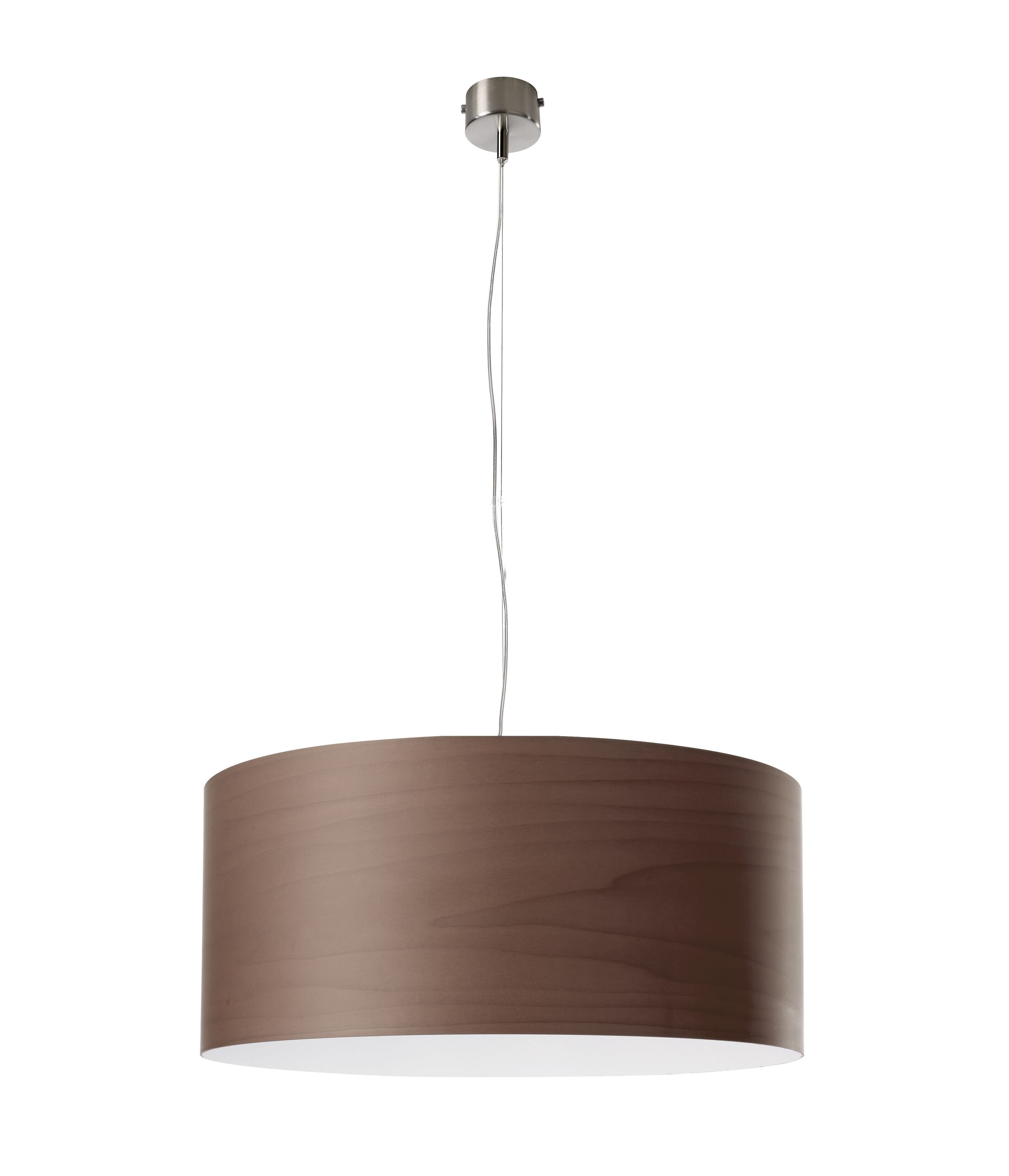 Gea 1-Light Pendant Finish: Ivory White, Size: 7.8