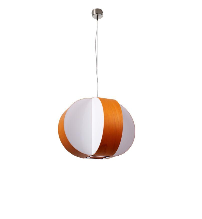 Carambola 1-Light Globe Pendant Bulb Type: E26, Finish: Orange