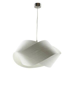 Nut 1-Light Novelty Pendant Shade Color: Ivory White, Bulb Type: E26