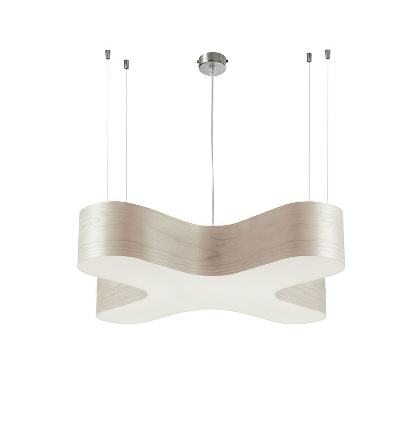 X Club 2-Light Pendant Size: Medium, Features: Dimmable, Shade Color: Pink
