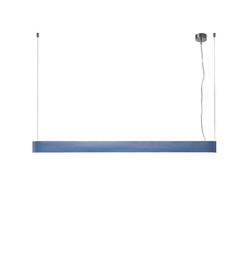 I-Club 5-Light LED Kitchen Island Pendant Shade Color: Blue