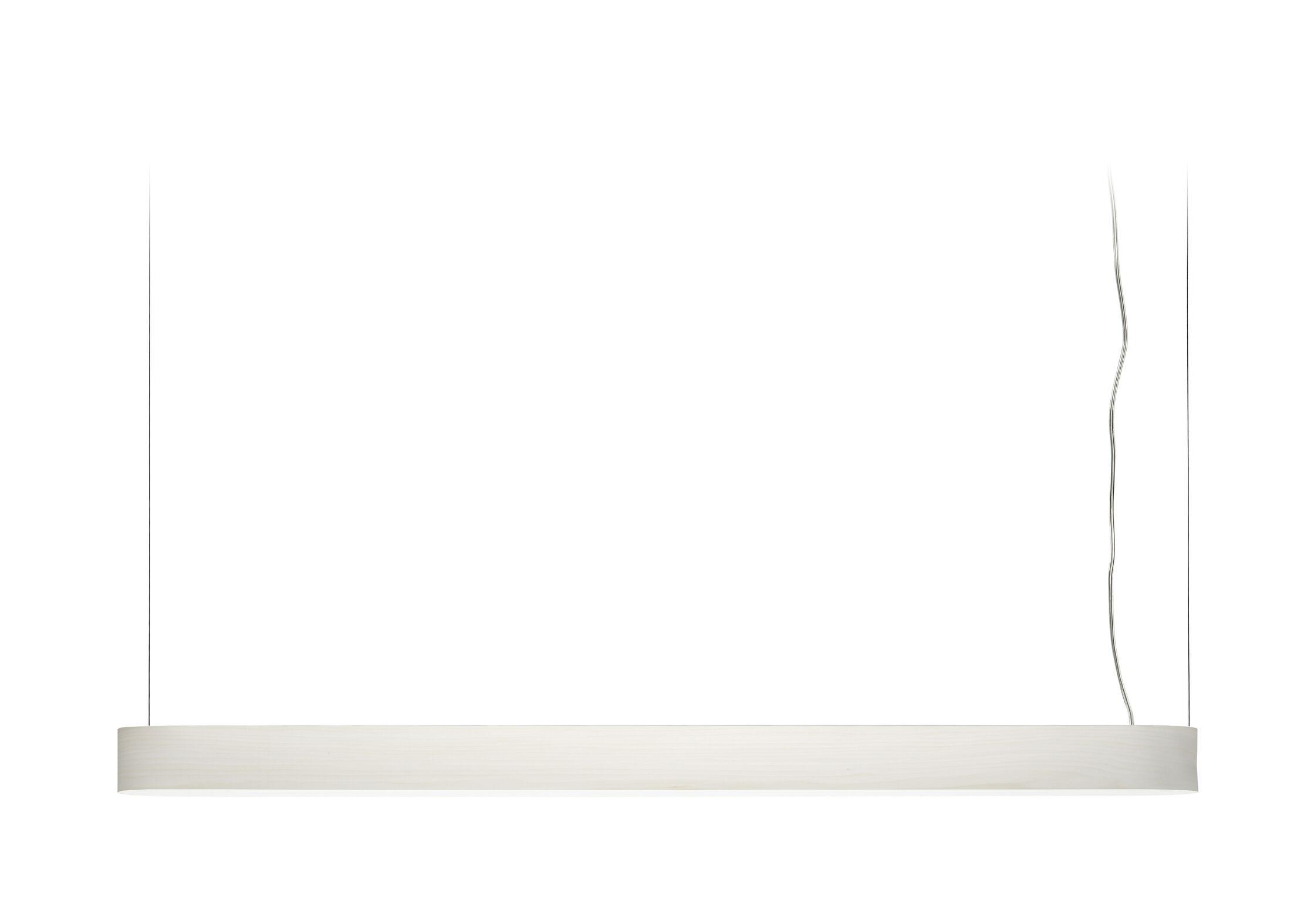 I-Club LED Rectangle Pendant Shade Color: Ivory Brushed Nickel