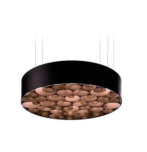 Spiro 10-Light  LED  Pendant Shade Color: Chocolate