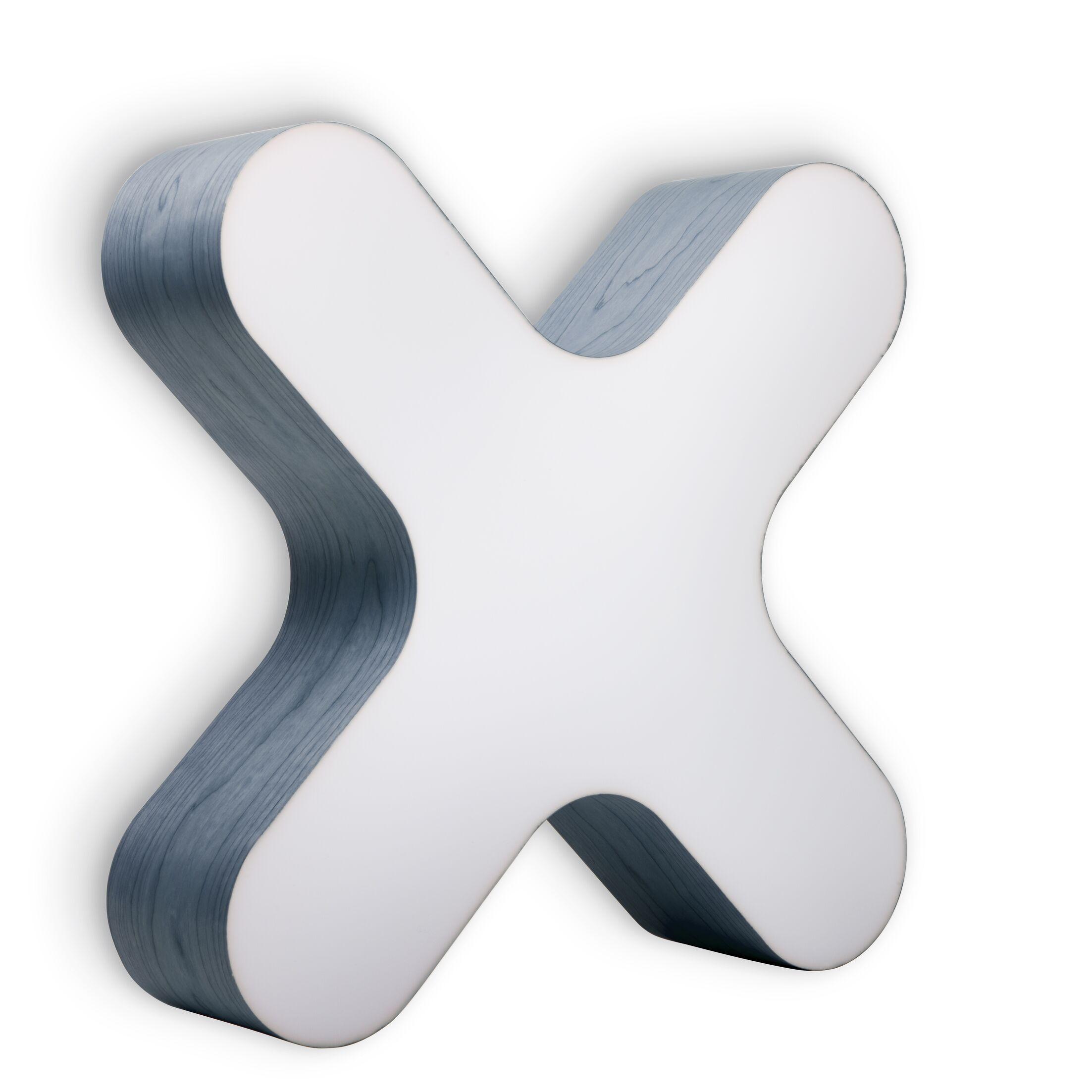 X-Club 4 -Light LED Flush Mount Fixture Finish: Blue