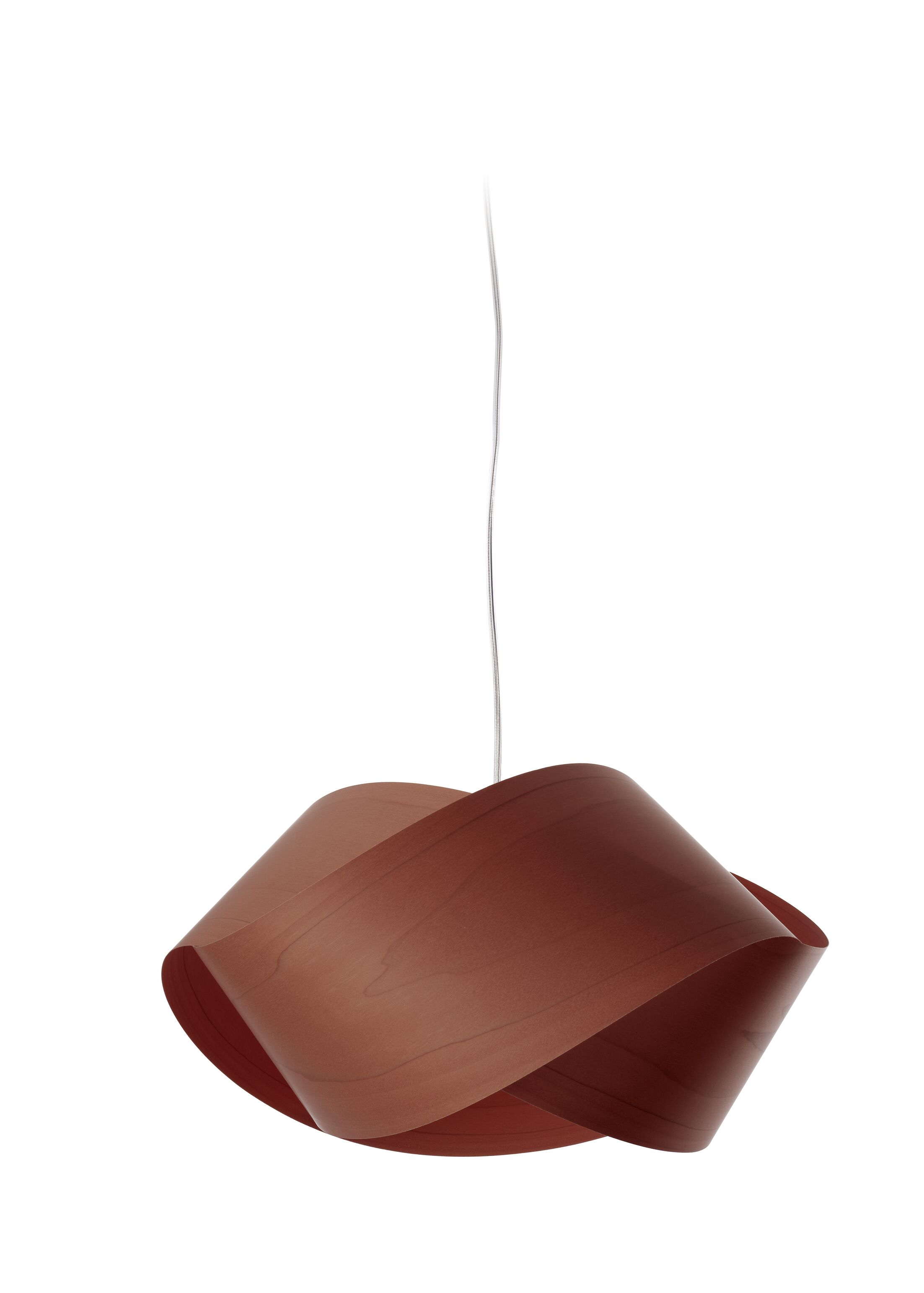 Nut 1-Light Novelty Pendant Shade Color: Chocolate, Bulb Type: GU24
