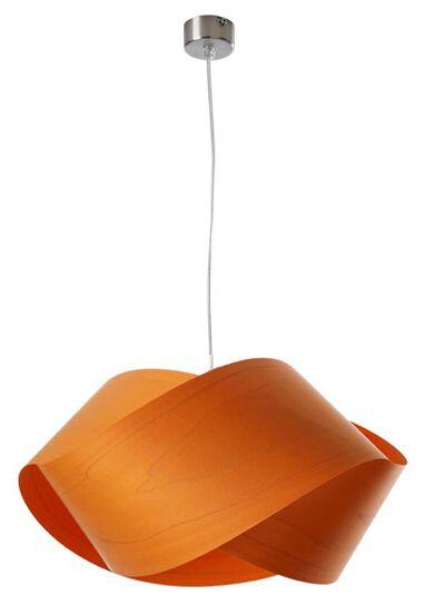 Nut 1-Light Novelty Pendant Shade Color: Orange, Bulb Type: GU24