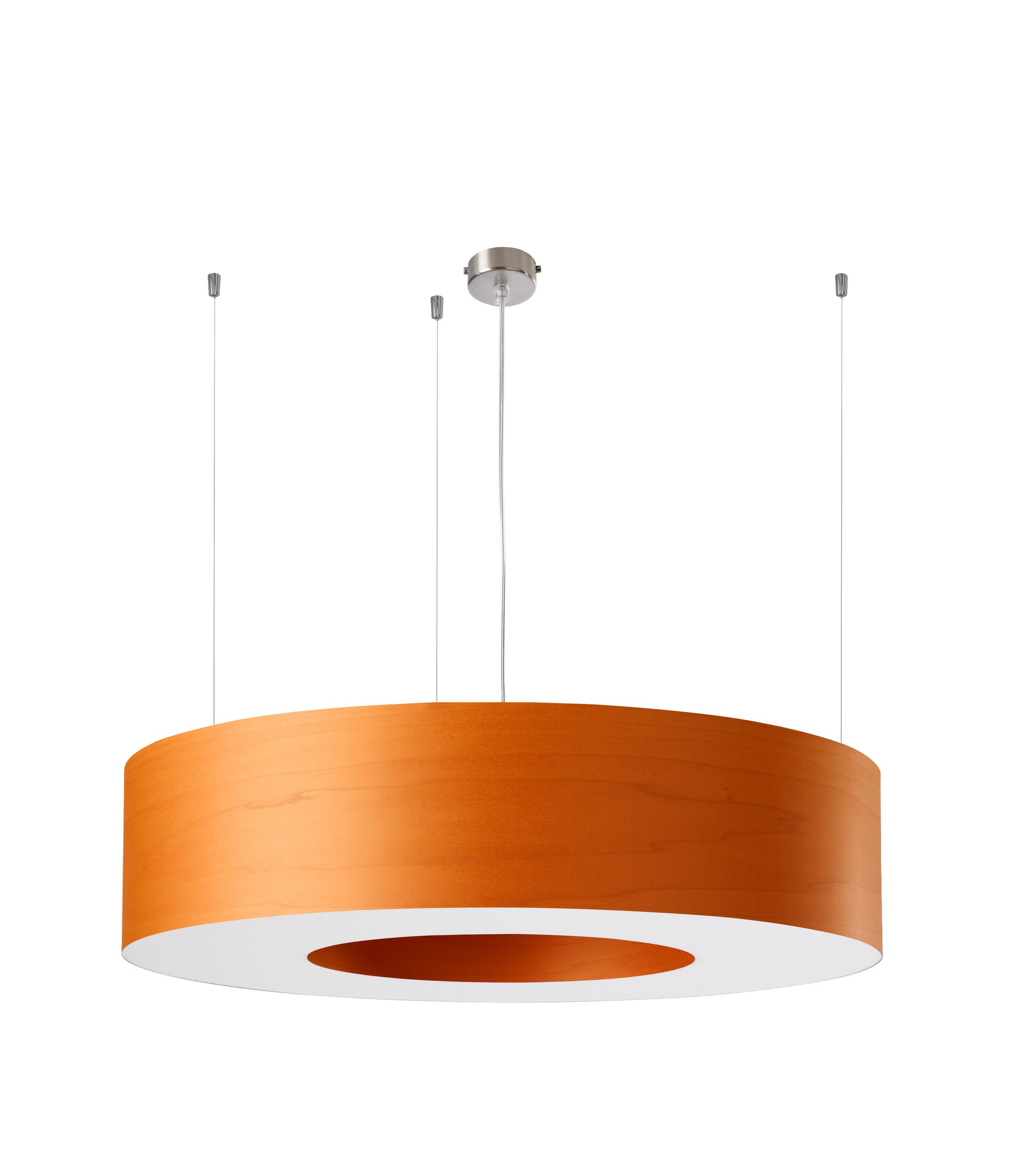 Saturnia 6-Light  LED  Pendant Shade Color: Orange