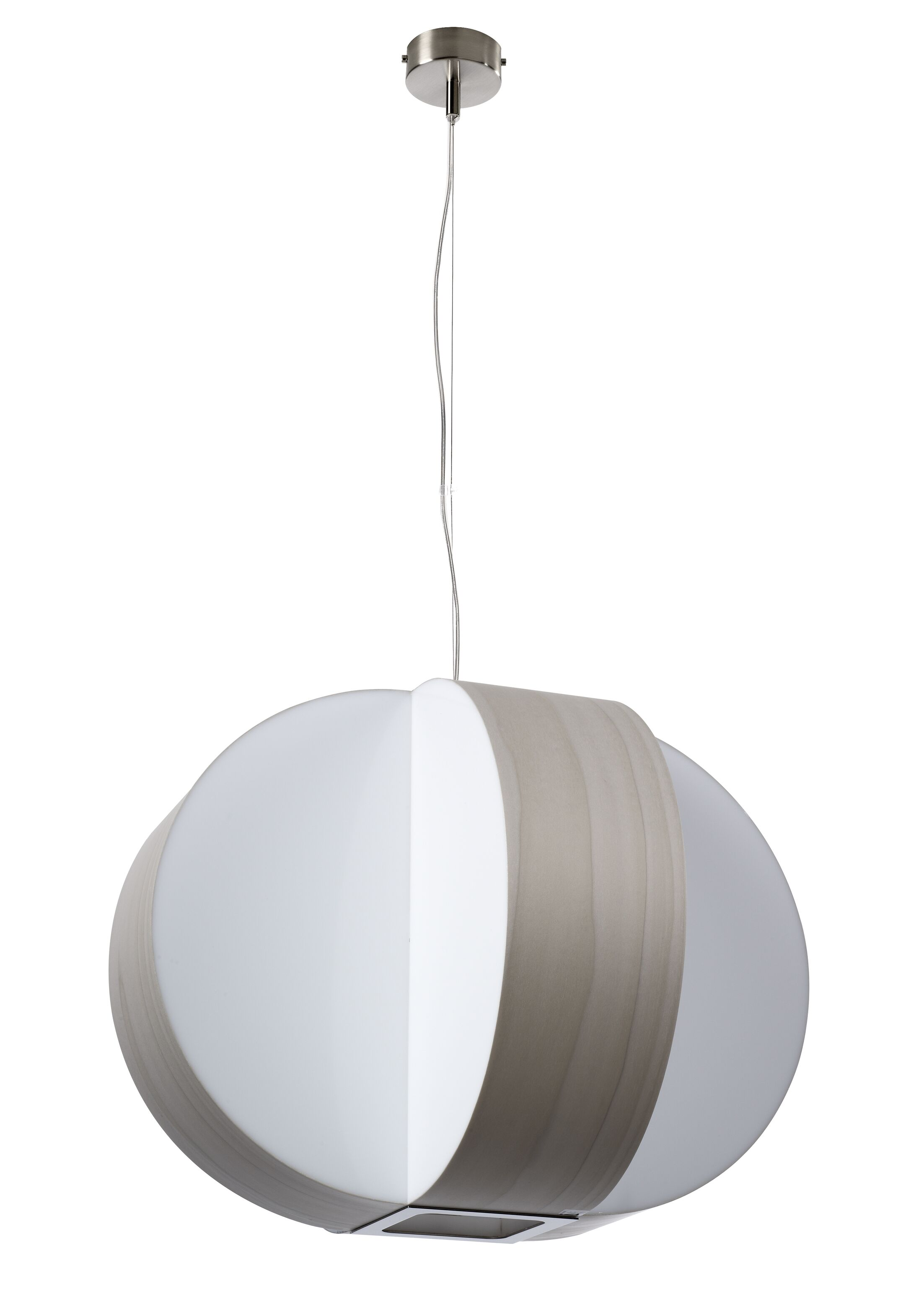 Carambola 4-Light Pendant Shade Color: Grey