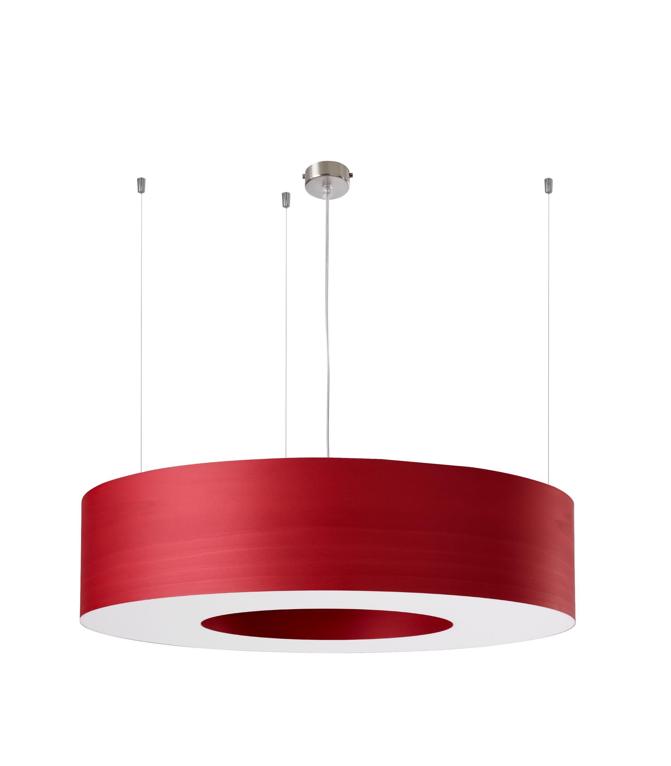Saturnia 6-Light  LED  Pendant Shade Color: Red