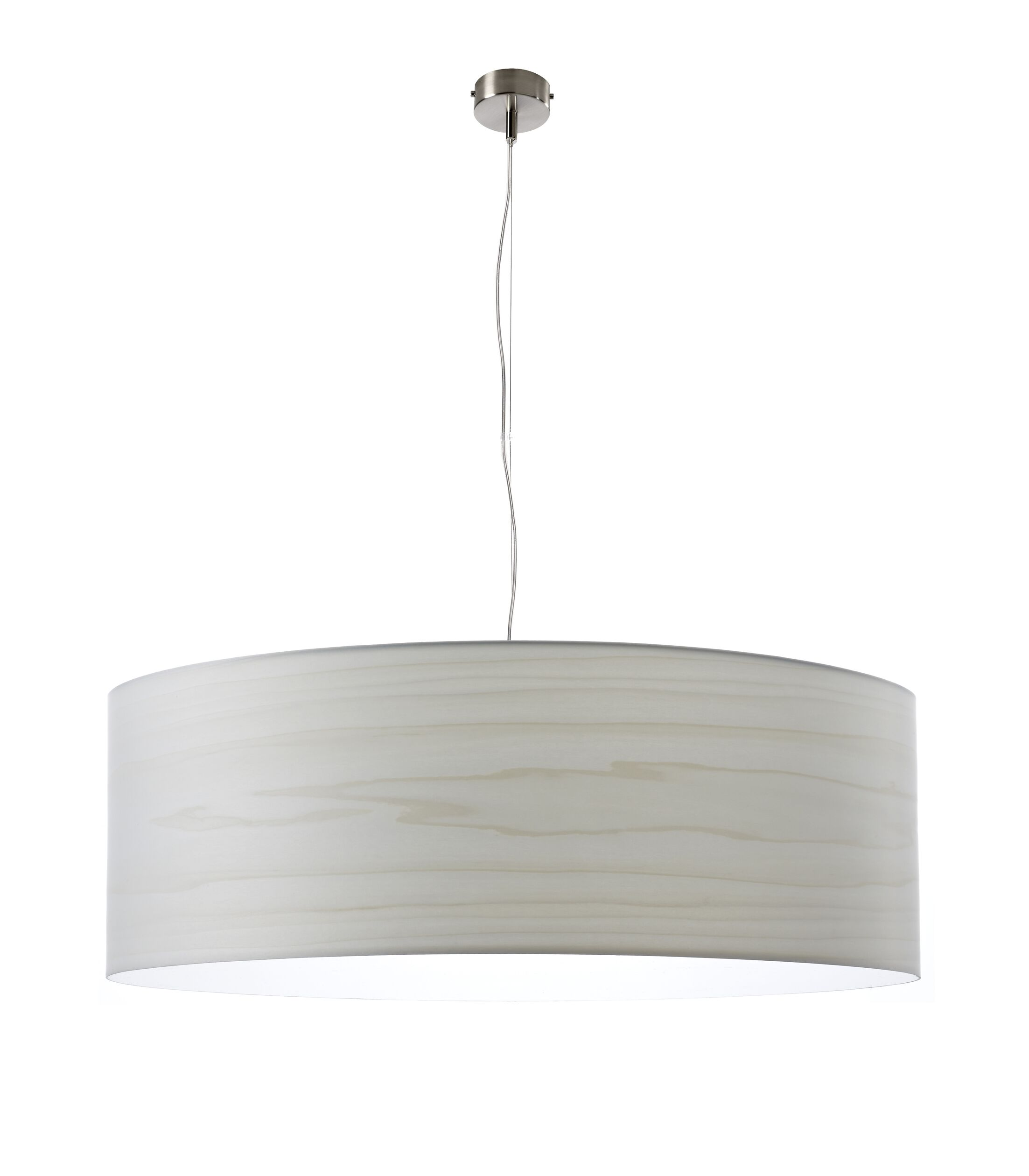Gea 1-Light Pendant Finish: Ivory White, Bulb Type: GU24 Base, Size: 7.8