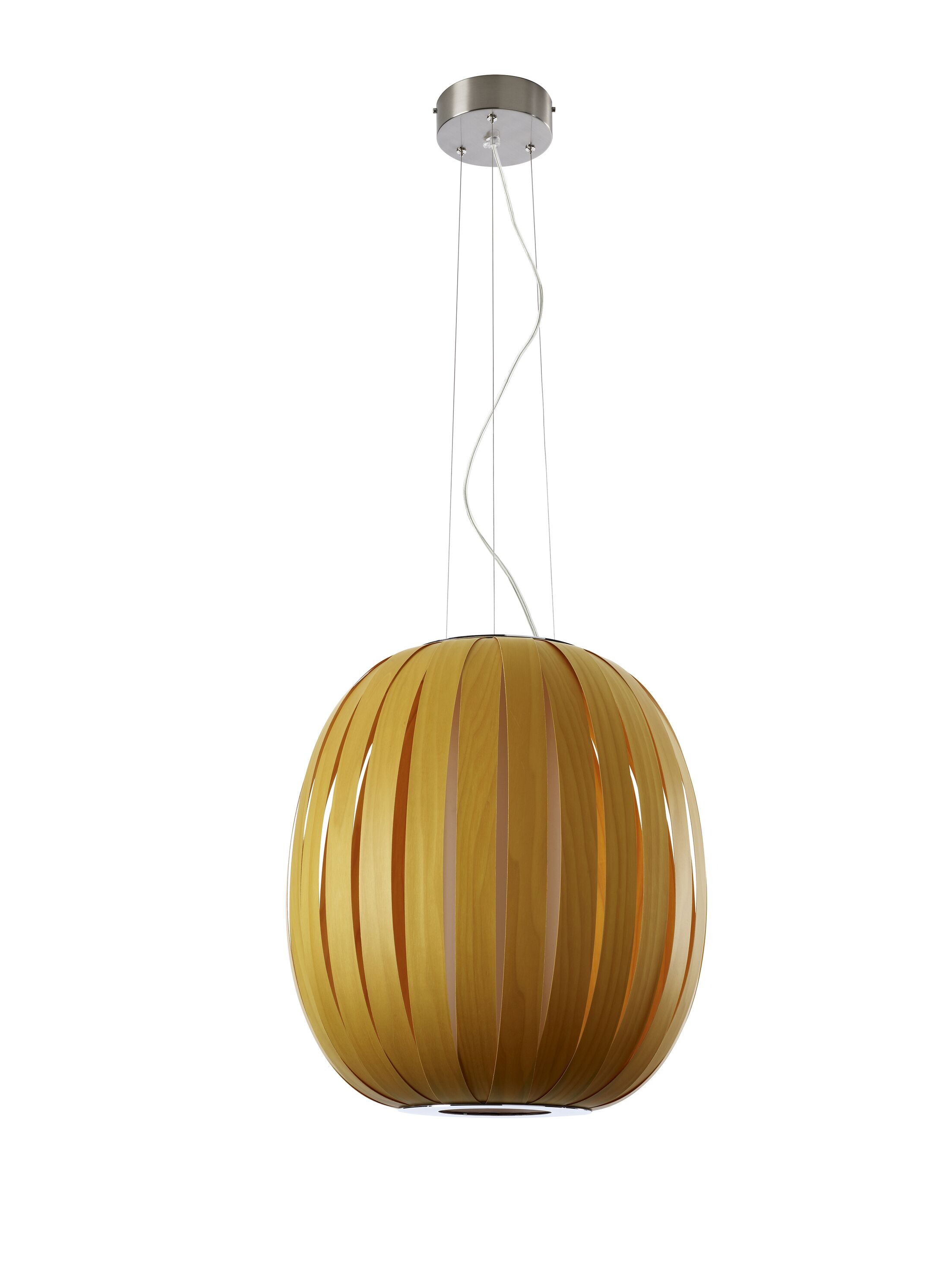 Pod 1-Light Pendant Bulb Type: GU24 Base, Finish: Turquoise, Size: 19.7