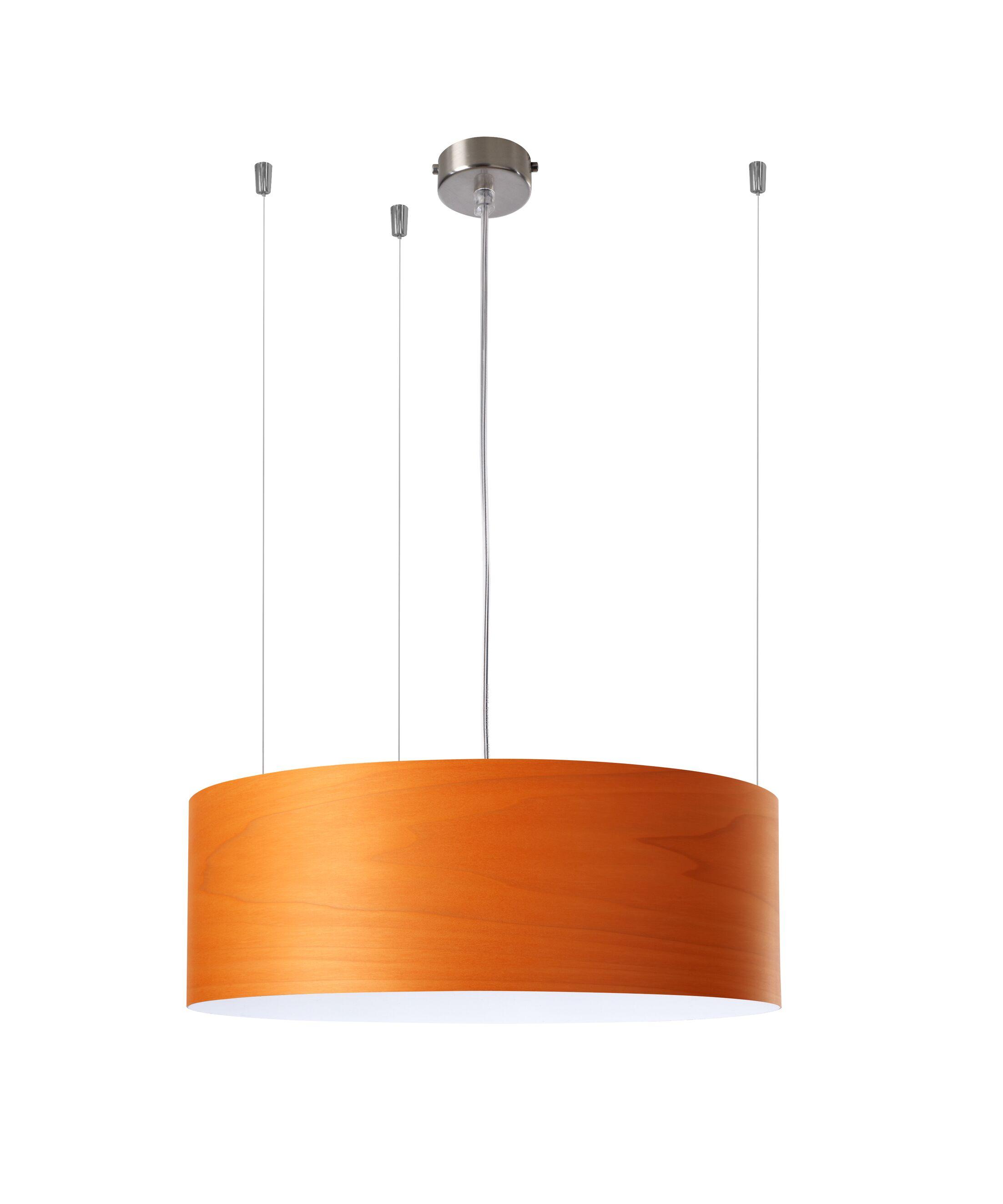 Gea 1-Light Pendant Finish: Orange, Features: 277V Ballast