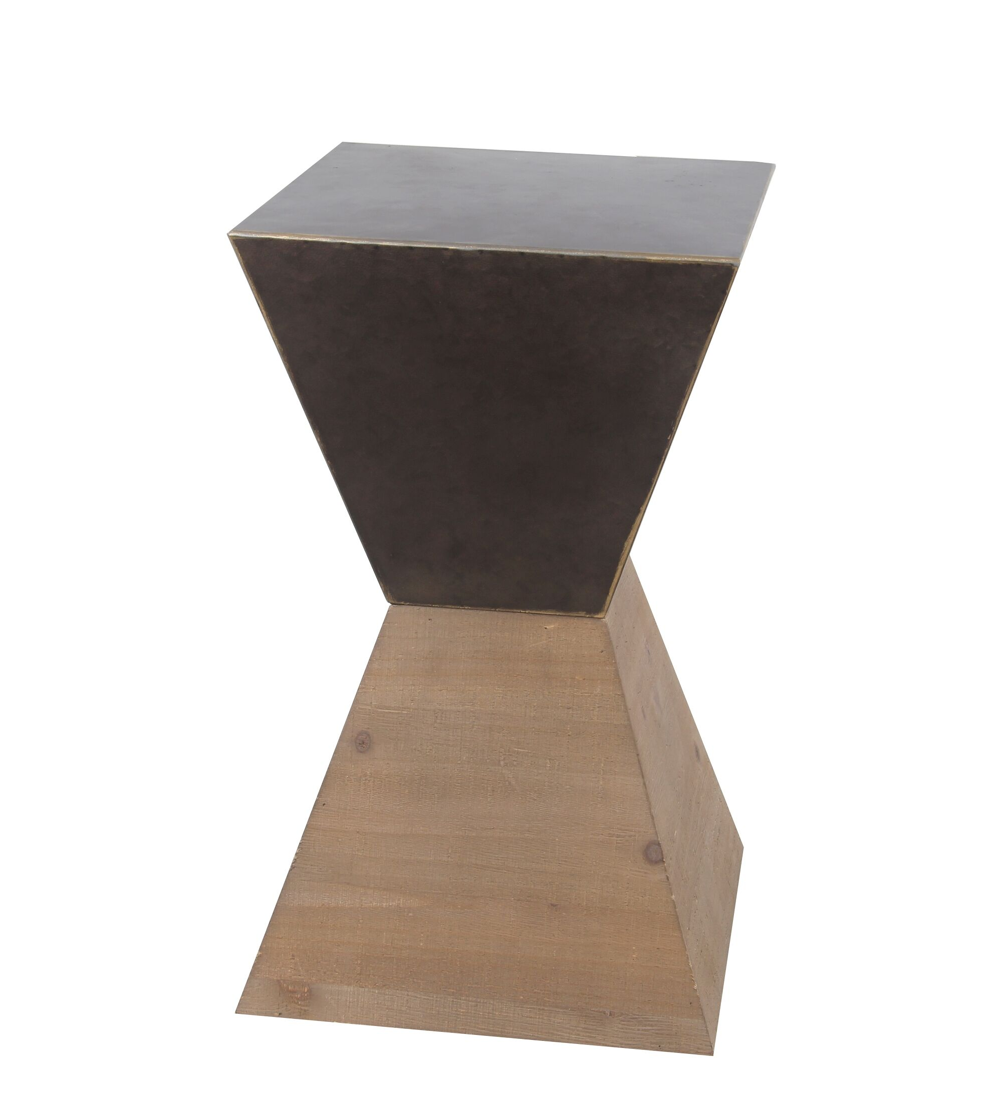 Rei Small Wood Iron End Table