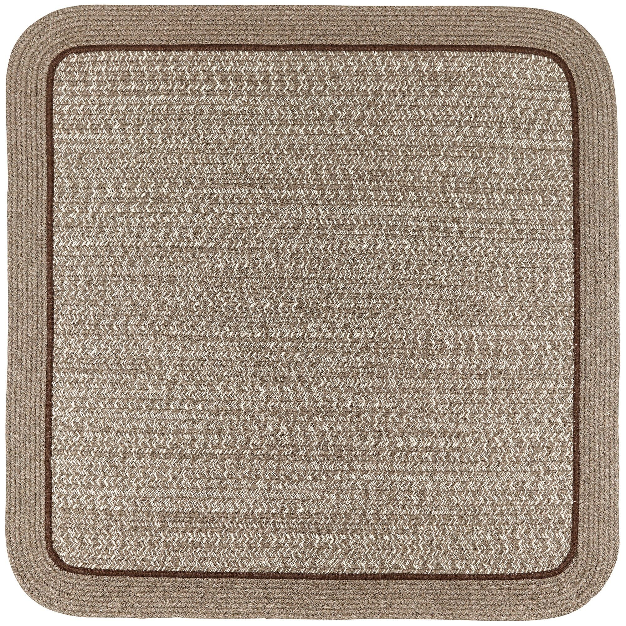 Browdy Banded Mocha Area Rug Rug Size: Rectangle 7' x 9'