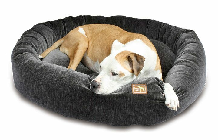 Nest Bolster Color: Charcoal, Size: 40